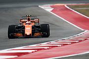 October 19-22, 2017: United States Grand Prix. Stoffel Vandoorne (BEL), McLaren Honda, MCL32