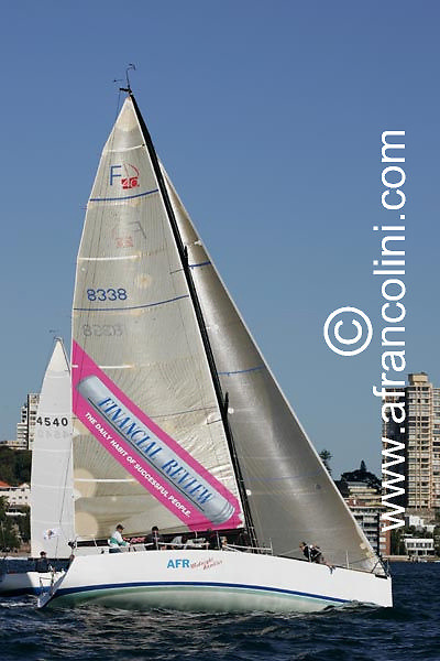 SAILING - BMW Winter Series 2004/ Sydney  (AUS) - AFR MIDNIGHT RAMBLER - 4/07/04 - Photo: Andrea Francolini