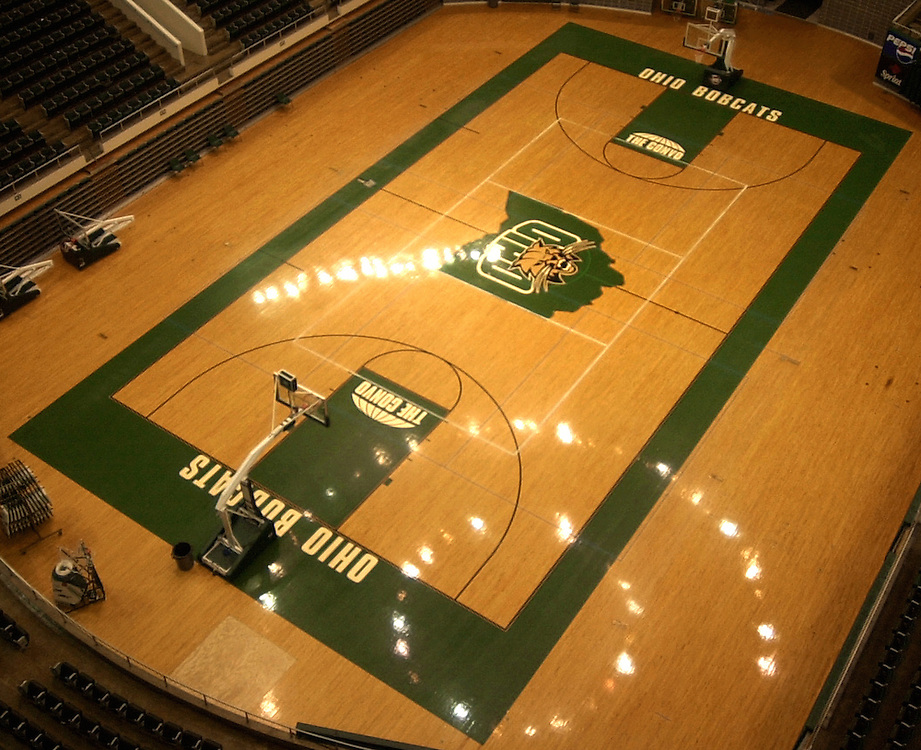 Convo Floor from Catwalk 6/4/03
