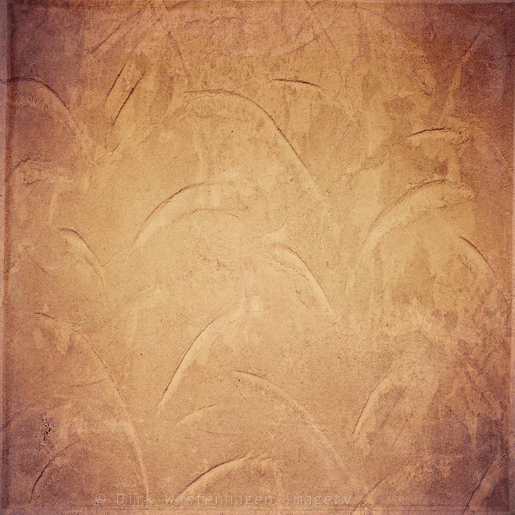 Golden brown wall texture