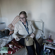 Lorna Iqbal Clader and Thomas Mungoe both suffer from tuberculosis and find it very hard to keep up with the 6 months of the rigorous treatment regime. The tb clinic at Homerton University Hospital make daily visits to their shared flat making sure they take their medication.  Both were very ill and Thomas near death due to added HIV complications when they were admitted to hospital and he still suffers from malnutrition general break down of bodily funtions. Lorna is on prescribed methadone treatment, trying to kick a heroin habbit and various other substance abuses and her constant battle with depression is wearing her down. With a lot of help from the NHS and various social services they slowly manage to rebuild their lives and and get back on their feet.