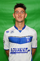 Roman Laspalles of Auxerre during Auxerre squad photo call for the 2016-2017 Ligue 2 season on September, 7 2016 in Auxerre, France ( Photo by Andre Ferreira / Icon Sport )