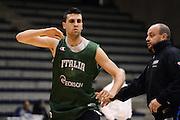 Biella, 14/12/2012<br /> Basket, All Star Game 2012<br /> Allenamento Nazionale Italiana Maschile <br /> Nella foto: riccardo cervi<br /> Foto Ciamillo