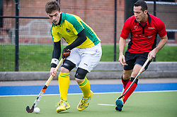 Indian Gymkhana v Southgate  - Men's Hockey league - East Conference, The Arena, London, UK on 18 March 2017. Photo: Simon Parker