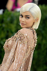 Kylie Jenner arriving at the Costume Institute Benefit at The Metropolitan Museum of Art celebrating the opening of Rei Kawakubo/Comme des Garcons: Art of the In-Between in New York City, NY, USA, on May 1, 2017. Photo by Dennis Van Tine/ABACAPRESS.COM  | 591180_023 New York City Etats-Unis United States