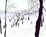 Brooklyn's Prospect Park in Winter