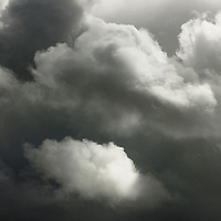 Grey clouds in Kerry, Ireland / cl045