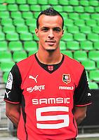 Foued KADIR - 19.09.2013 - Photo officielle - Rennes - Ligue 1<br /> Photo : Philippe Le Brech / Icon Sport