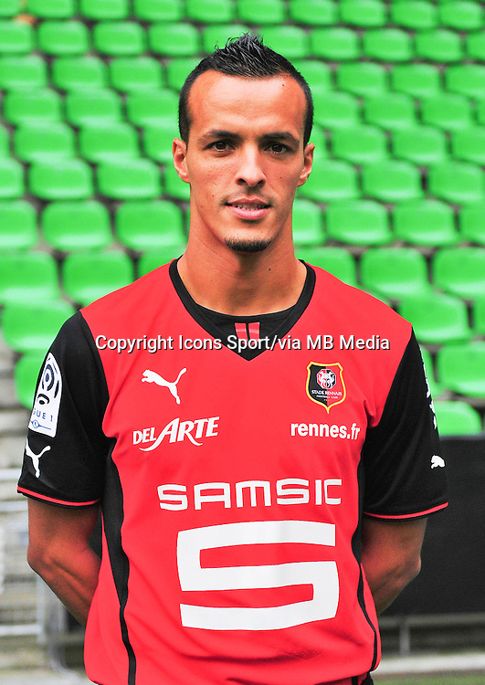 Foued KADIR - 19.09.2013 - Photo officielle - Rennes - Ligue 1<br /> Photo : Philippe Le Brech / Icon Sport