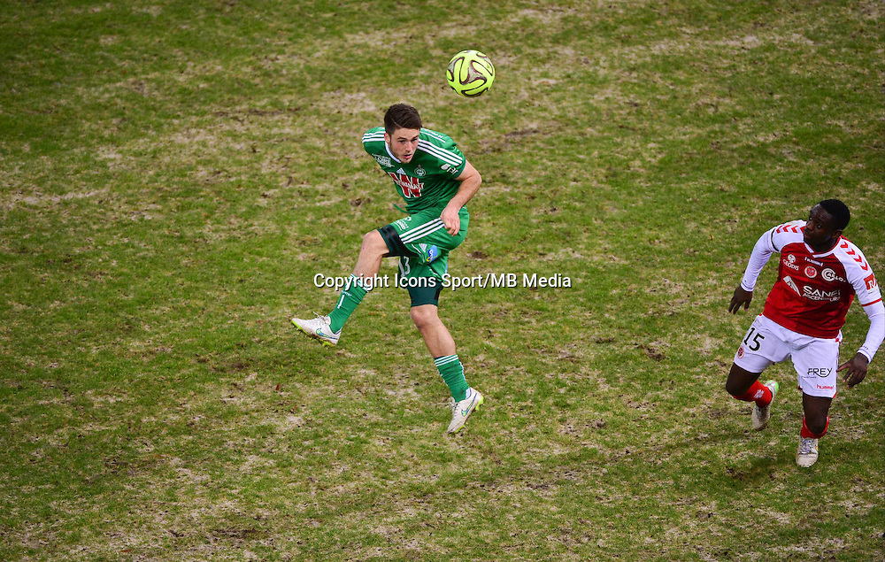 Ricky VAN WOLFSWINKEL / Chris MAVINGA  - 10.01.2015 - Reims / Saint Etienne - 20eme journee de Ligue 1<br />