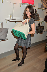 ANNA TIMONEY at a party hosted by Melissa Del Bono to celebrate the launch of her Meli Melo flagship store at 324 Portobello Road, London W10 on 28th November 2013.