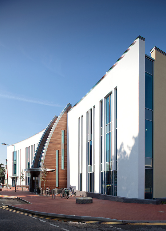 ashford gateway project, ashford, kent, england, uk, architecture, new, building, public sector, kent county council, library, social services