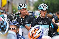 CYCLING - TOUR DE FRANCE 2011 - STAGE 8 - Aigurande > Super-Besse Sancy (189 km) - 07/07/2011 - PHOTO : JULIEN CROSNIER / DPPI - ANDY SCHLECK (LUX) / TEAM LEOPARD-TREK