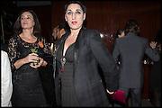 CELIA FORNER; ROSA DE PALMA, Liberatum Cultural Honour for Francis Ford Coppola<br /> with Bulgari Hotel & Residences, London. 17 November 2014