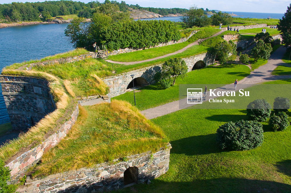 Suomenlinna Fortress (Unesco World Heritage site), Helsinki, Finland