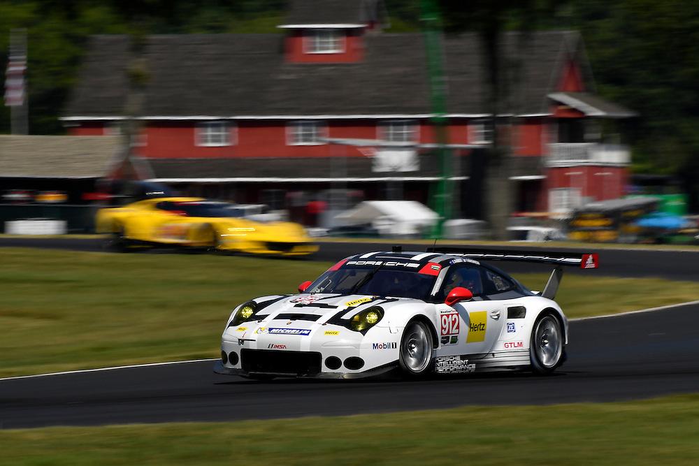 26-28 August, 2016, Alton, Virginia USA<br /> 912, Porsche, 911 RSR, GTLM, Earl Bamber, Frederic Makowiecki<br /> &copy;2016, Scott R LePage <br /> LAT Photo USA