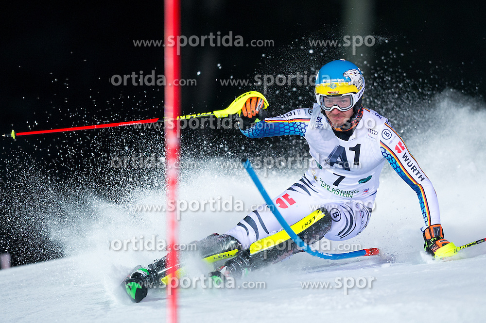 Felix Neureuther (GER) during the 7th Mens' Slalom of Audi FIS Ski World Cup 2016/17, on January 24, 2017 at the Planai in Schladming, Austria. Photo by Martin Metelko / Sportida