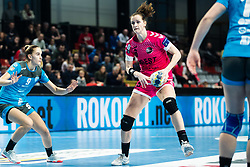 Gros Ana of Brest Bretagne during handball match between RK Krim Mercator and Brest Bretagne Handball in 2nd main round of Women's DELO EHF Champions League 2019/20, on February 2, 2020 in Kodeljevo, Ljubljana,  Slovenia. Photo Grega Valancic / Sportida