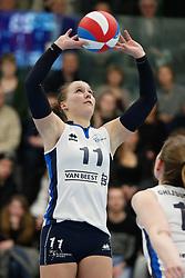 20180303 NED: Eredivisie Sliedrecht Sport - VC Sneek, Sliedrecht <br />Ana Rekar (11) of Sliedrecht Sport <br />&copy;2018-FotoHoogendoorn.nl / Pim Waslander