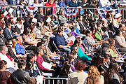 14 JANUARY 2012 - CHANDLER, AZ:   New US citizens at a naturalization ceremony in Chandler, AZ, Jan. 14. More than 140 people from 21 countries were naturalized as United States citizens Saturday in Chandler. This is the third year Chandler has sponsored a naturalization ceremony in connection with the Dr. Martin Luther King holiday.   PHOTO BY JACK KURTZ