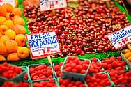 2018 MAY 15 - Fruit for sale in Pike Place Market in Seattle, WA, USA. By Richard Walker