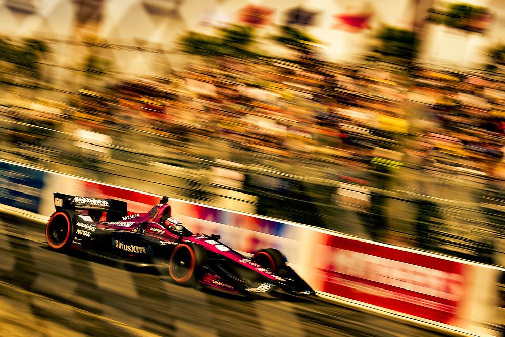 Jack Harvey, Meyer Shank Racing with Schmidt Peterson Honda<br /> Sunday 15 April 2018<br /> Toyota Grand Prix of Long Beach<br /> Verizon IndyCar Series<br /> Streets of Long Beach, California USA<br /> World Copyright: Scott R LePage<br /> LAT Images