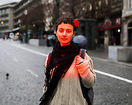 We become red for anger or embarrassment.<br />