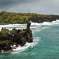 Waianapanapa State Park near Hana, Maui.