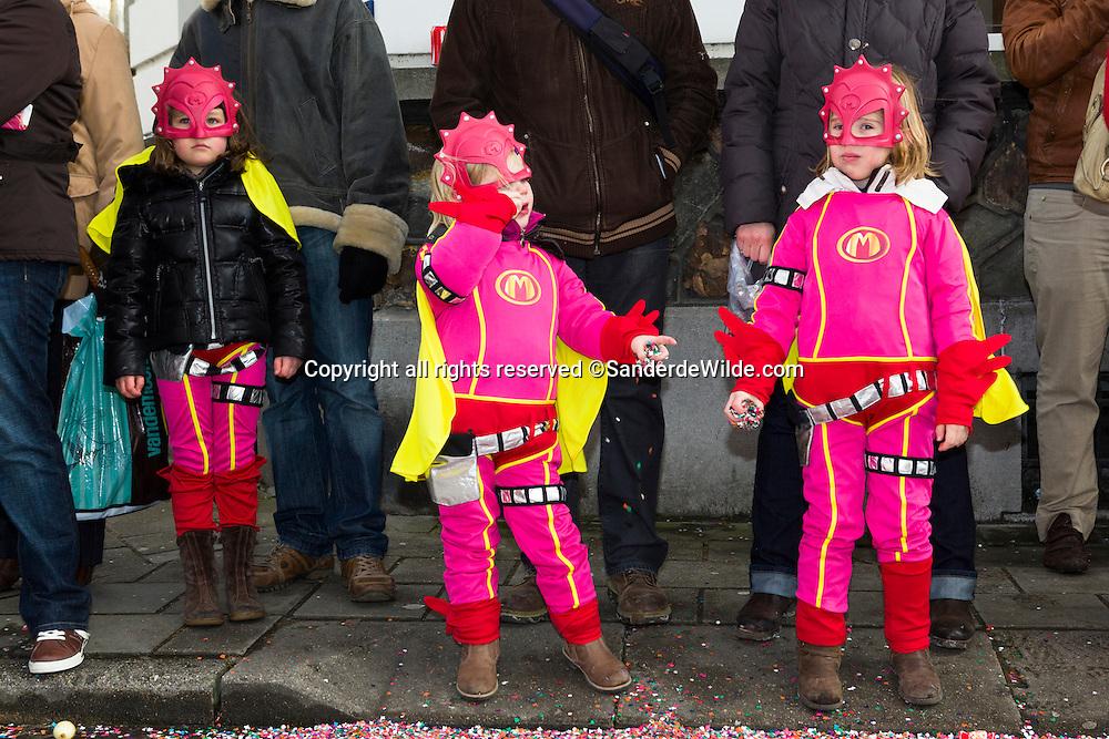 Belgian children tv star Megamindy.Belgium, Aalst, 19th of February 2012