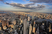 New York, 2015. Manhattan vista dal One World Observatory