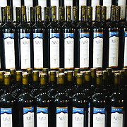 Shelves lined with the Summit Estate's Alto Tempranillo wine