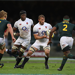 Chris Robshaw of England during the 2018 Castle Lager Incoming Series 3rd Test match between South Africa and England at Newlands Rugby Stadium,Cape Town,South Africa. 23,06,2018 Photo by (Steve Haag JMP)