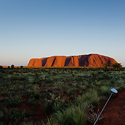 World Heritage Site, Uluru-Kata Tjuta National Parl is sacred to the Anangu, the Arboriginal People of the area.