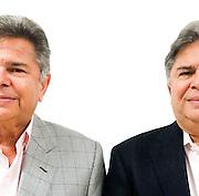 Victor y Rolando Shahani. Empresarios panameños dedicados en el sector industrial y construccion.©Victoria Murillo/Istmophoto.com