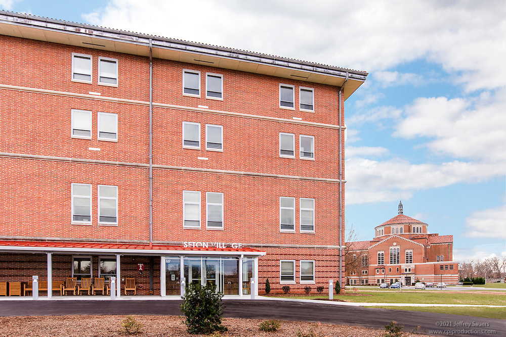 Architectural image of Seton Village Apartments in Emittsburg Maryland by Jeffrey Sauers of Commercial Photographics, Architectural Photo Artistry in Washington DC, Virginia to Florida and PA to New England