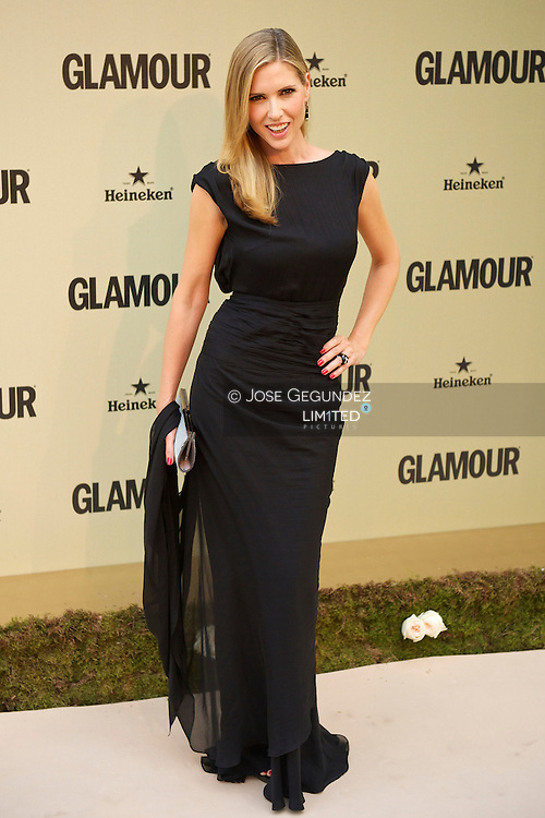 Judith Masco attends Glamour magazine 10th Anniversary party at Italian Embassy in Madrid, Spain