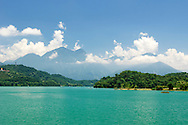 Sun Moon Lake in Central Taiwan.