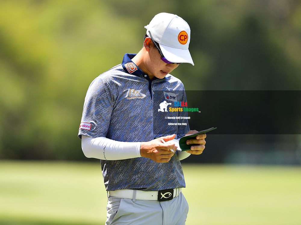 PERTH, AUSTRALIA - FEBRUARY 16: Jazz Janewattananond (THA) on the 4th during the 3rd round of the ISPS Handa World Super 6, Lake Karrinyup Country Club, Perth, Western Australia, on February 16, 2019. <br /> .<br /> .<br /> .<br /> (Photo by: Naratip Golf Srisupab/SEALs Sports Images)<br /> .<br /> Any image use must include a mandatory credit line adjacent to the content which should read: Naratip Golf Srisupab/SEALs Sports Images