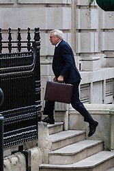 London, December 05 2017. Secretary of State for Exiting the European Union David Davis arrives at his office in Downing Street. © Paul Davey