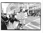 saturday 4pm 24 oct 34st/Broadway man on rubbish bin predicting Jesus returning 10am wed oct 28© Copyright Photograph by Dafydd Jones 66 Stockwell Park Rd. London SW9 0DA Tel 020 7733 0108 www.dafjones.com