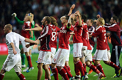 [DK=06-09-2011: Fodbold Landskamp EM Kvalifikationskamp, Danmark-Norge: Danmark vinder 2-0.Foto: Lars Møller/Sportsagency.dk].[UK=06-09-2011: Soccer National Team EURO 2012 Qualification match, Denmark-Norway: Denmark wins 2-0.Photo: Lars Moeller/Sportsagency.dk].