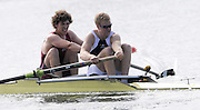 Eton, United Kingdom.  Men's Pair, Bow, Matt TARRANT and Fred GILL.  Sat. time trial.  2011 GBRowing Trials, Dorney Lake. Saturday  16/04/2011  [Mandatory Credit; Peter Spurrier/Intersport-images] Venue For 2012 Olympic Regatta and Flat Water Canoe events.