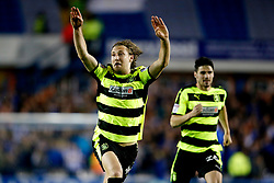 Michael Hefele of Huddersfield Town celebrates after his side win the penalty shoot out - Mandatory by-line: Matt McNulty/JMP - 17/05/2017 - FOOTBALL - Hillsborough - Sheffield, England - Sheffield Wednesday v Huddersfield Town - Sky Bet Championship Play-off Semi-Final 2nd Leg