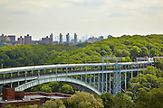View of Henry Hudson Parkway Bridge from 750 Kappock Street, 10th floor, Riverdale