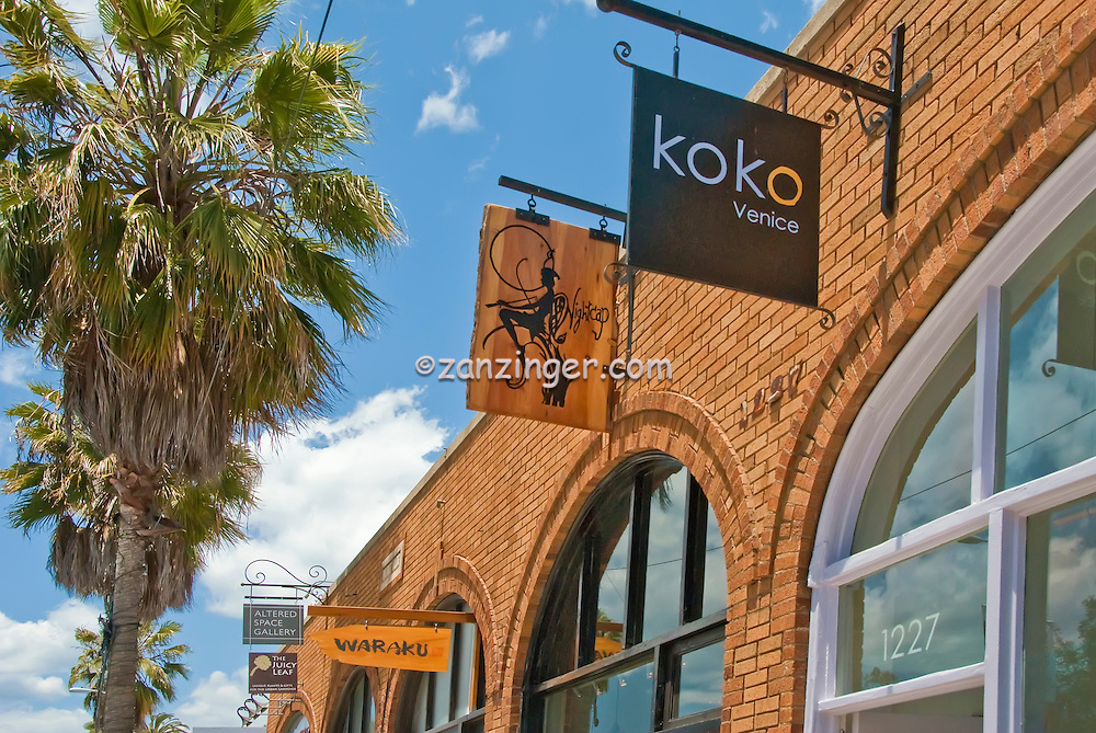 Abbot Kinney Restaurants Shops Bars Art Galleries Spas Furniture And Antiques