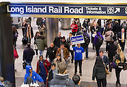 Election Eve at Penn Station NYC 2013