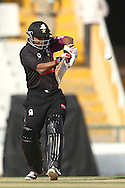 Ammar Mahmood Khan of the Faisalabad Wolves pulls a delivery to the boundary during the Qualifier 1 match of the Karbonn Smart Champions League T20 (CLT20) between Otago Volts and the Faisalabad Wolves held at the Punjab Cricket Association Stadium, Mohali on the 17th September 2013<br /> <br /> Photo by Shaun Roy/CLT20/SPORTZPICS<br /> <br /> <br /> Use of this image is subject to the terms and conditions as outlined by the CLT20. These terms can be found by following this link:<br /> <br /> http://sportzpics.photoshelter.com/image/I0000NmDchxxGVv4<br /> <br /> ENTER YOUR EMAIL ADDRESS TO DOWNLOAD