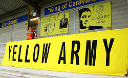 Burton Albion banners at The Pirelli Stadium - Mandatory byline: Robbie Stephenson/JMP - 07966386802 - 25/08/2015 - FOOTBALL - Pirelli Stadium -Burton,England - Burton Albion v Middlesbrough - Capital One Cup - Second Round