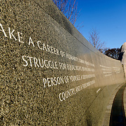 Situated in West Potomac Park fronting the Tidal Basin (opposite the Jefferson Memorial), the MLK Memorial was opened in 2011.