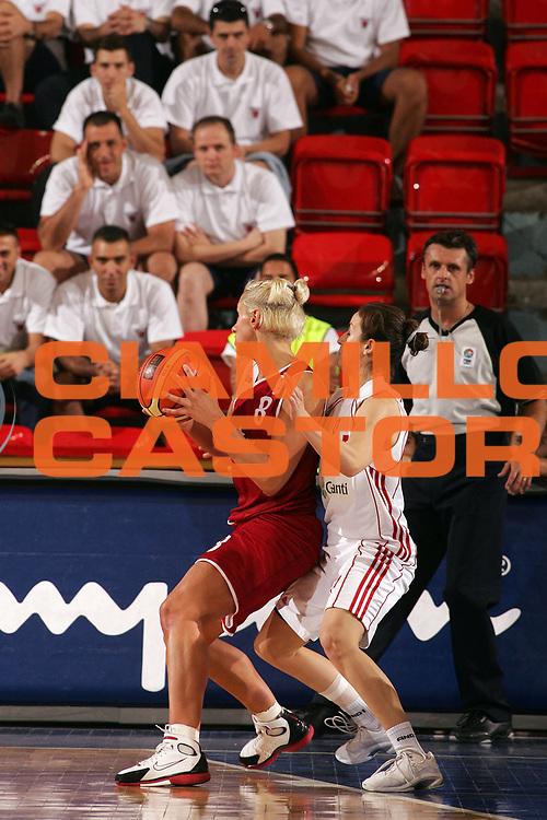DESCRIZIONE : Ankara Eurobasket Women 2005 Turchia-Lettonia<br /> GIOCATORE : Basko<br /> SQUADRA : Latvia Lettonia<br /> EVENTO : Eurobasket Women 2005 Campionati Europei Donne 2005<br /> GARA : Turchia Lettonia Turkey Latvia<br /> DATA : 10/09/2005<br /> CATEGORIA :<br /> SPORT : Pallacanestro<br /> AUTORE : Ciamillo&amp;Castoria/Fiba Europe